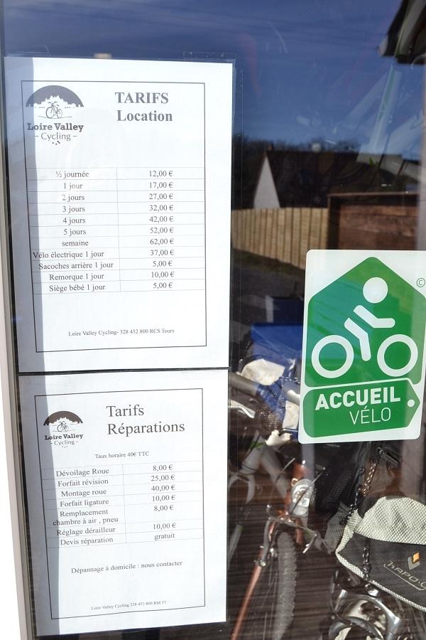 LABEL ACCUEIL Vélo et Loire à vélo
